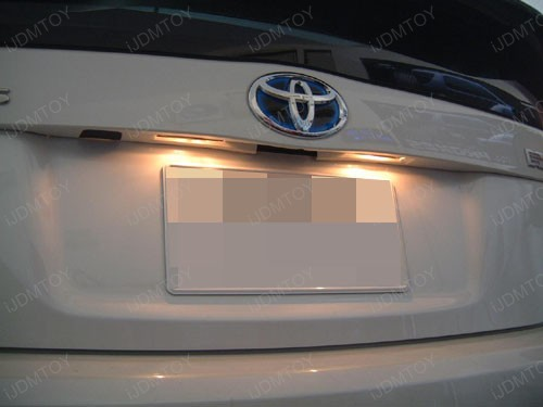 Toyota - Prius - LED - license - plate - light - 1